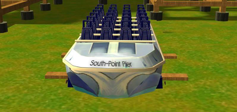 South-Point Pier Amusement Park Boat