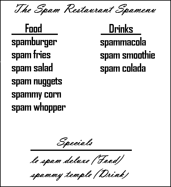Welcome to the spam restaraunt. 2ebd6pk