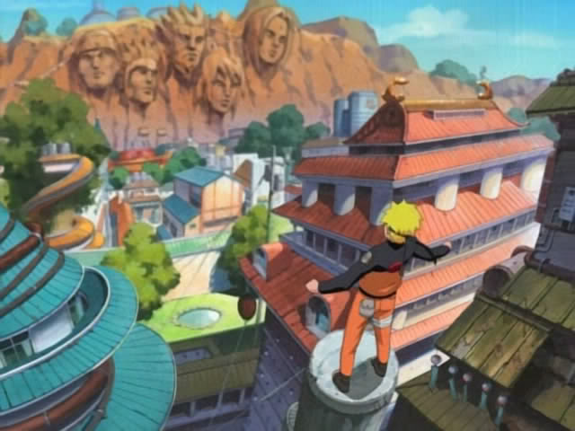 Imagenes de Naruto Uzumaki Konoha