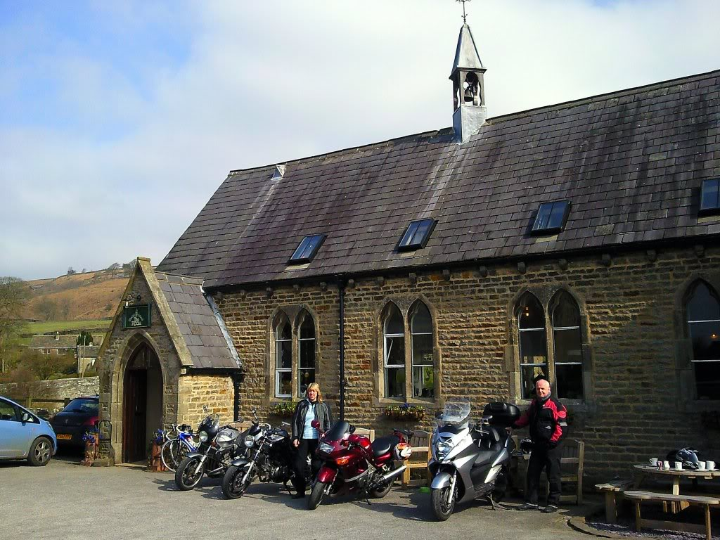 Sunday 27th March 2011 Ride Out Cafe