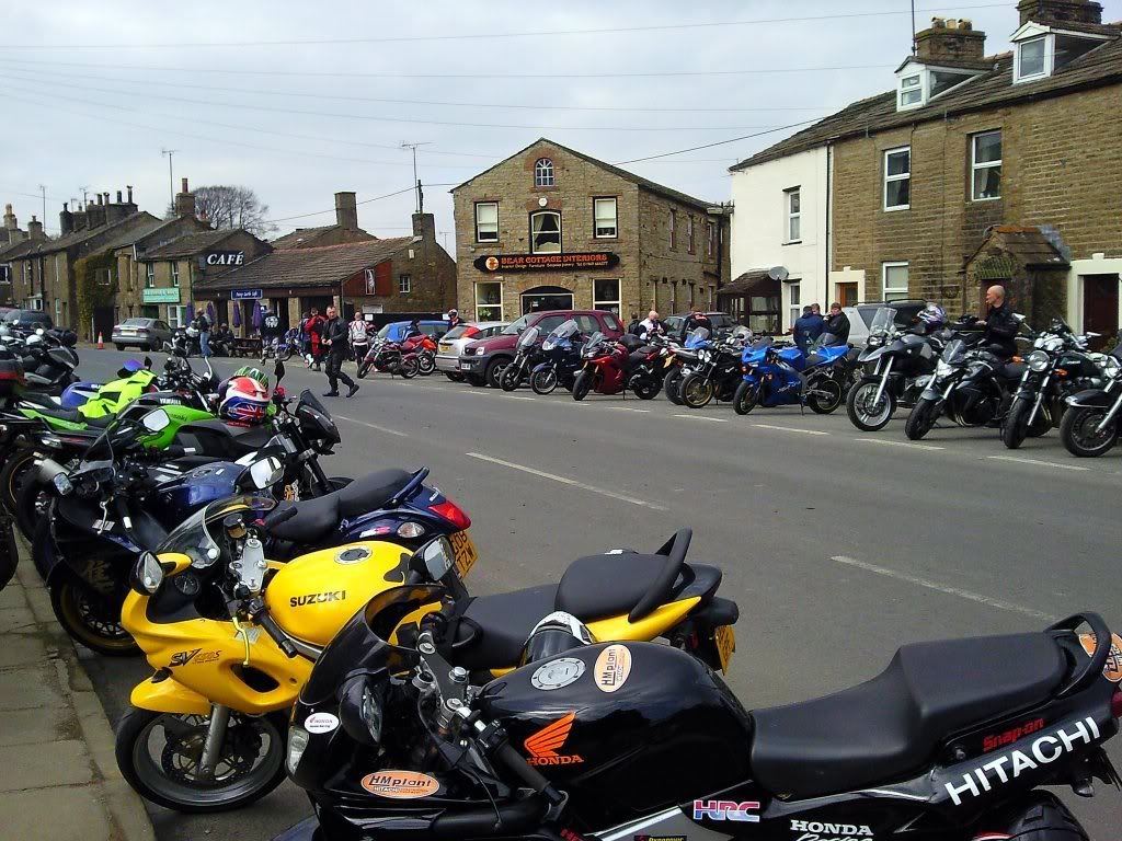 Sunday 27th March 2011 Ride Out Hawes