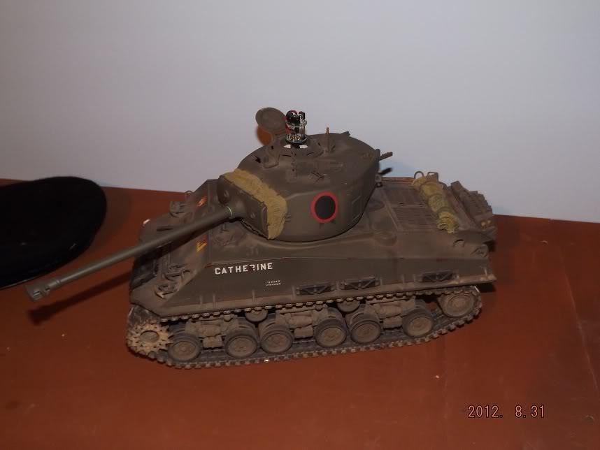 Tamiya Sherman M4A3E8 with SLU DSCF0606