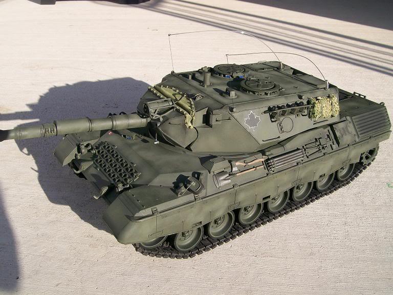 Tim's New Tamiya Leopard C1 build with Custom SLU Leo23
