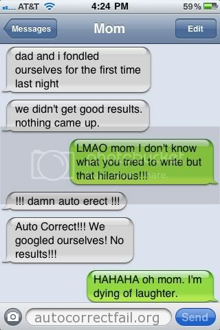 Autocorrect Firstfondle