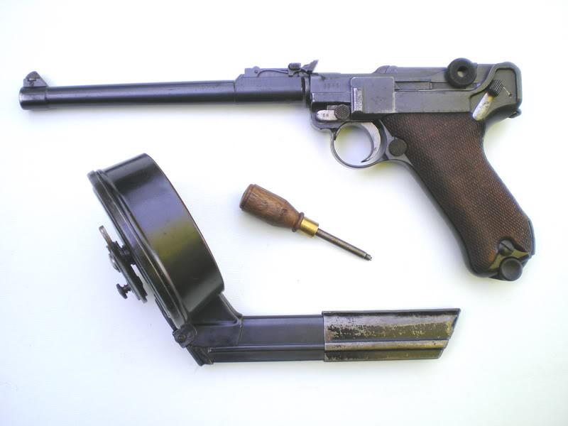 L'arme de poing de vos rêves ? Artillerie1917trommel