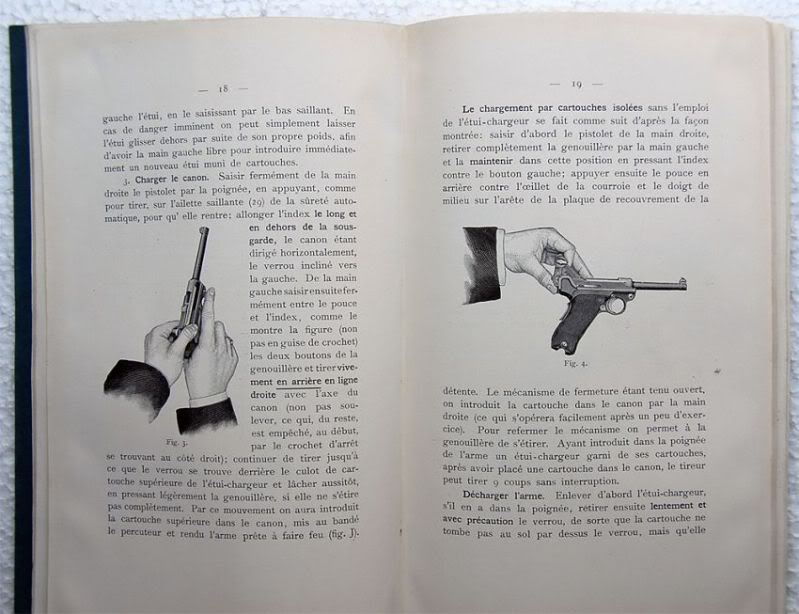 """Notice non réglementaire luger """"français"""" 1900 Parabellumfranais4"""