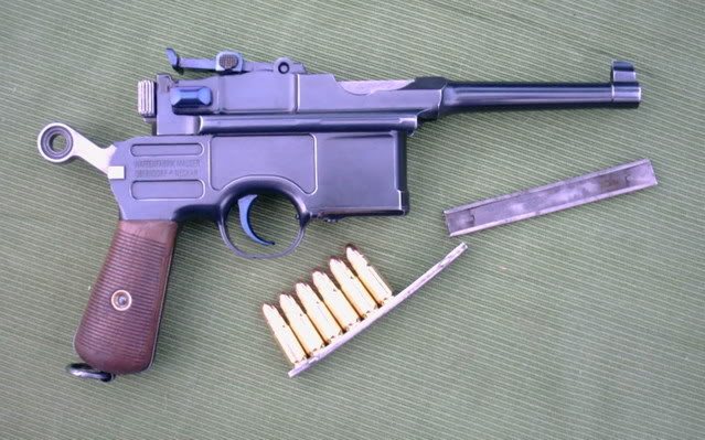 mauser C96 Sixshootrightarmed