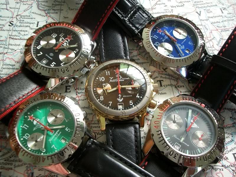 vostok chronographe avec mouvement 3133 CIMG2151