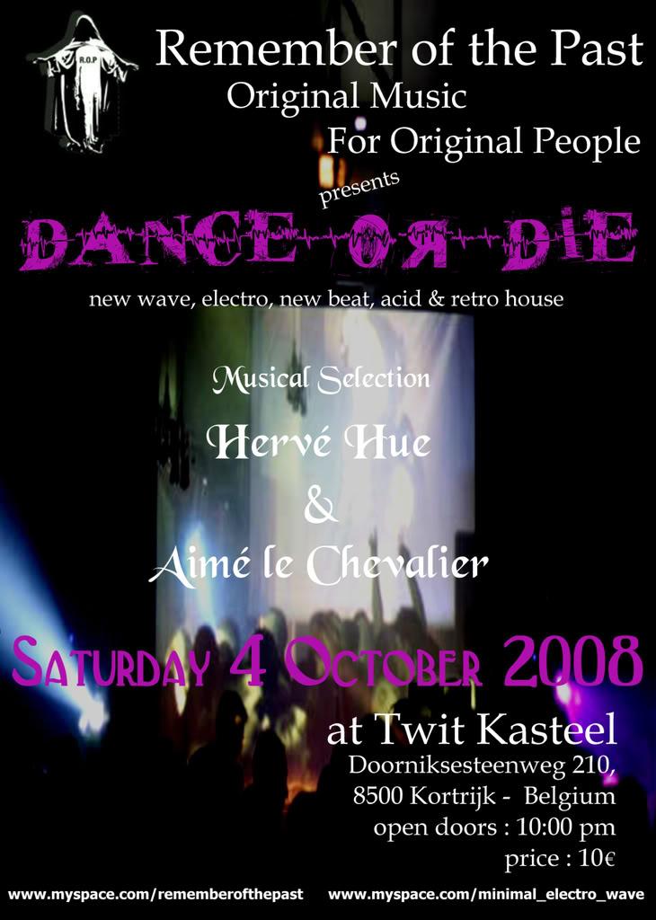 [04-10-08]Remember of the Past : Dance or Die !  Belgium ROP040908