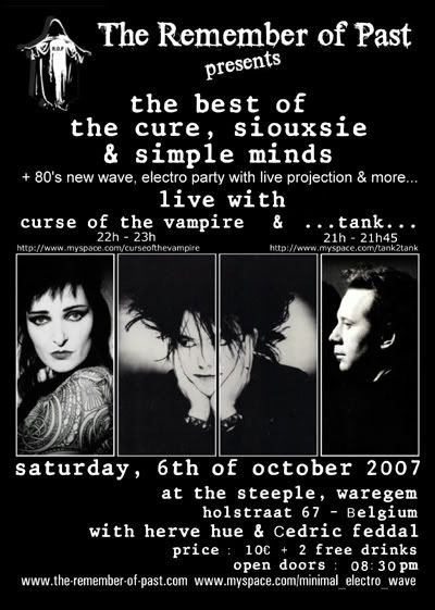 [06-10-07]  Cure, Simple Minds, Siouxsie & Live @the Ste ROP061007concertmyspace