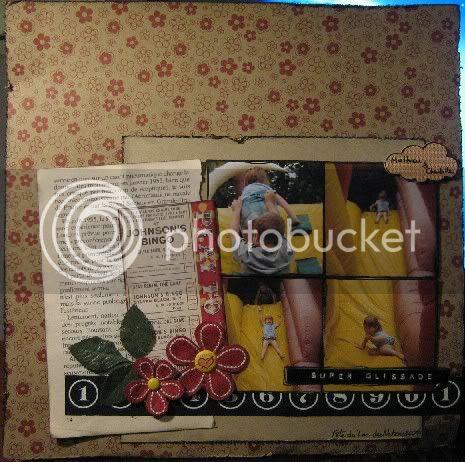 Crop-en-ligne SE-09: Défi #24 Le papier Craft 1296