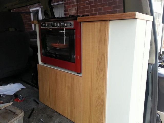 Mitsubishi L300 Delica start of kitchen fit out 11201624_1619219488294049_103580000546786142_n_zpsx3vpbfqq