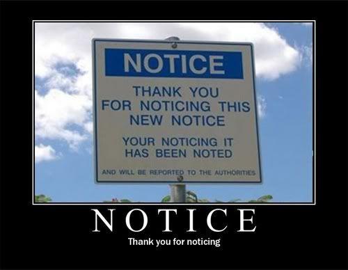 You Laff, You Lose Notice
