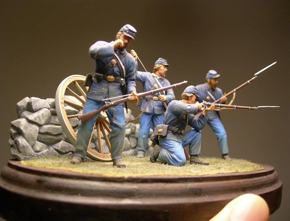Dragon 54mm Union Infantry (Civil War) D-02