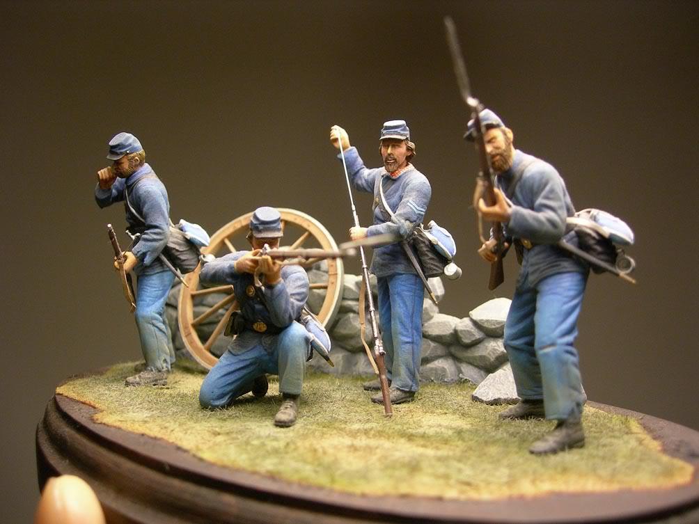 Dragon 54mm Union Infantry (Civil War) D-04