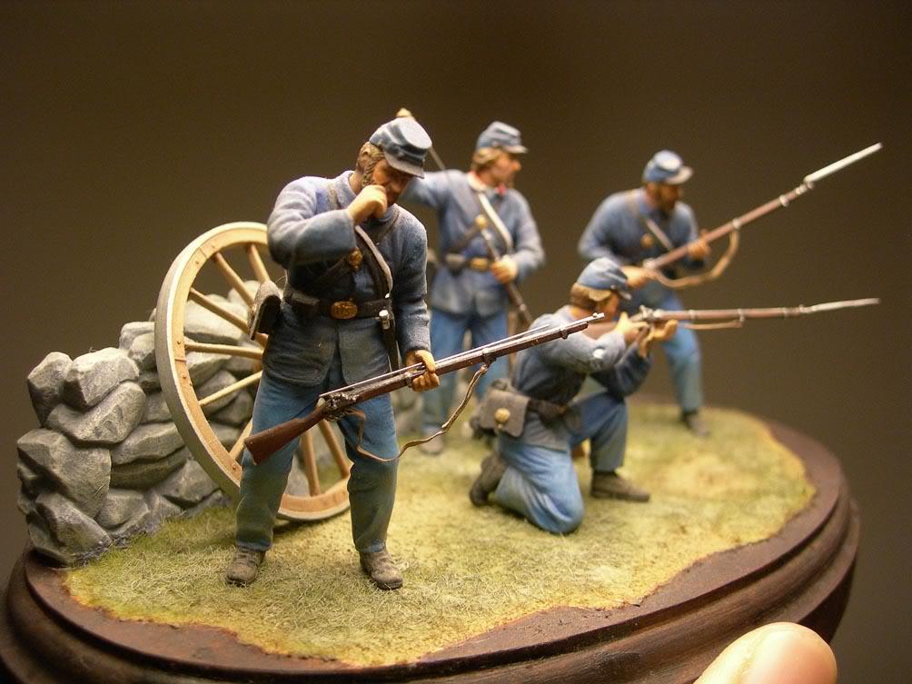 Dragon 54mm Union Infantry (Civil War) D-10