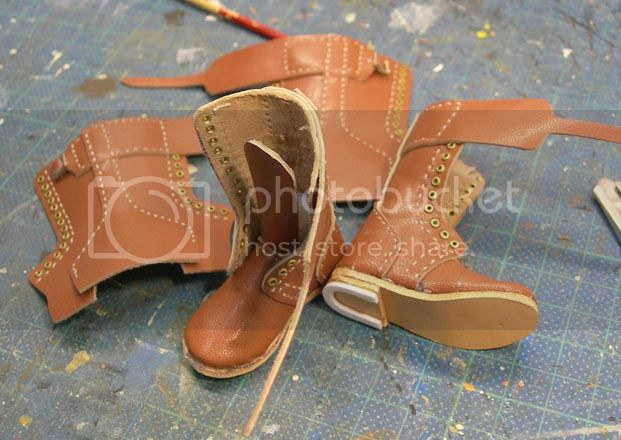 1/6 Canadian Boots (High Top) 35