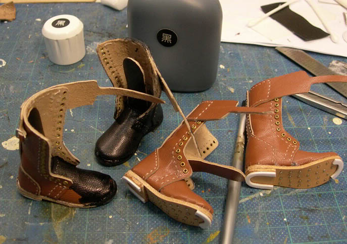 1/6 Canadian Boots (High Top) 37