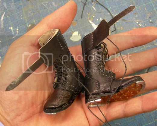 1/6 Canadian Boots (High Top) 38
