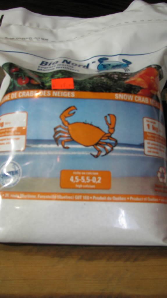Vermicompost et farine de crabe des neiges 006-26
