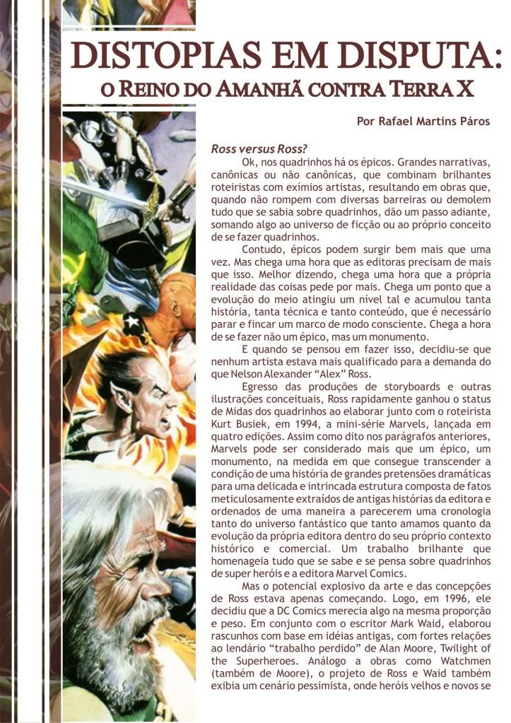 CAPA e PÁGINAS DA EDIÇÃO 26 Distopias001