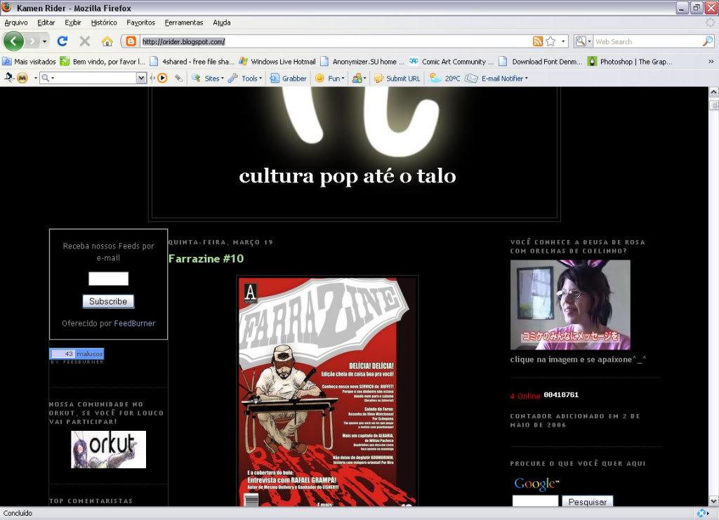 FARRAZINE # 10 Web