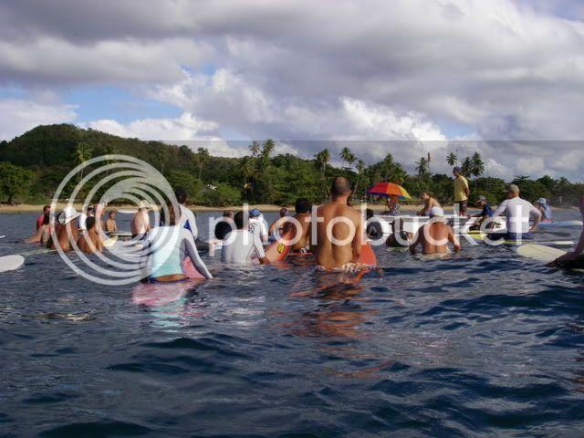 *Fotos del paddle out en Tres Palmas* IMGP2899