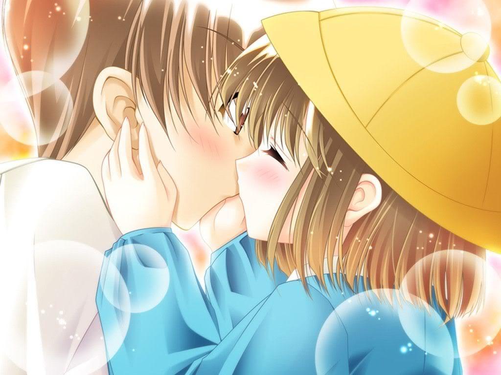 ~Romanticas...~ Anime_kiss