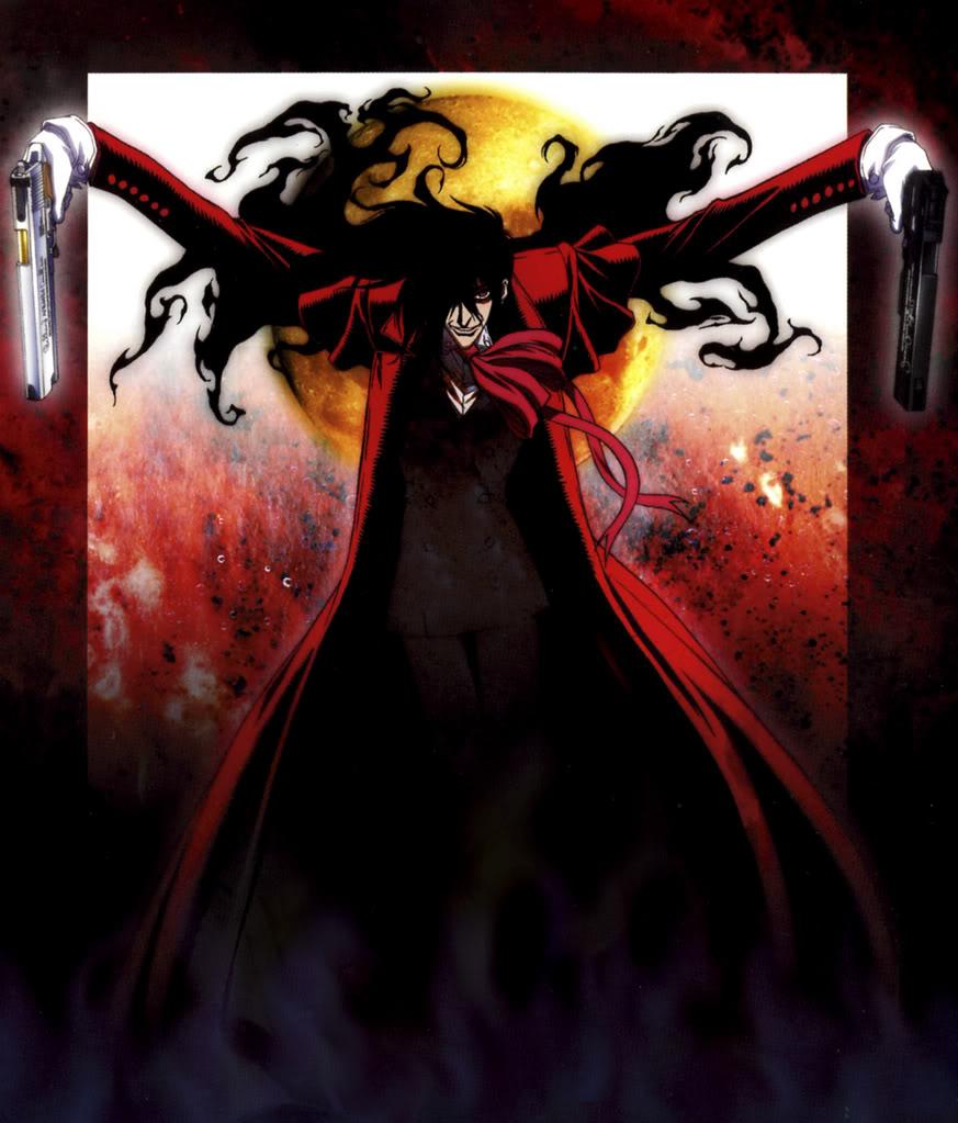 manga y anime de hellsing Hellsing