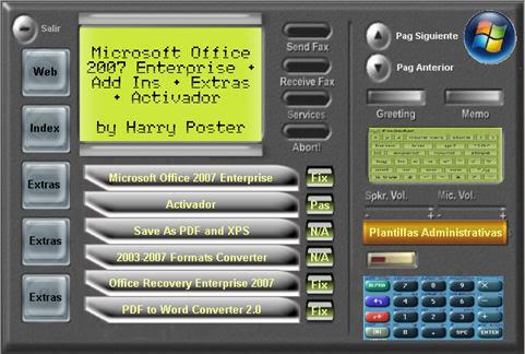 Mega TEU Oficinas & Empresas 2007 - 100 % - ISO DVD 1-1