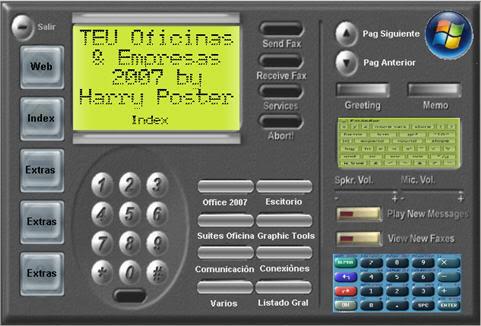 Mega TEU Oficinas & Empresas 2007 - 100 % - ISO DVD Ind