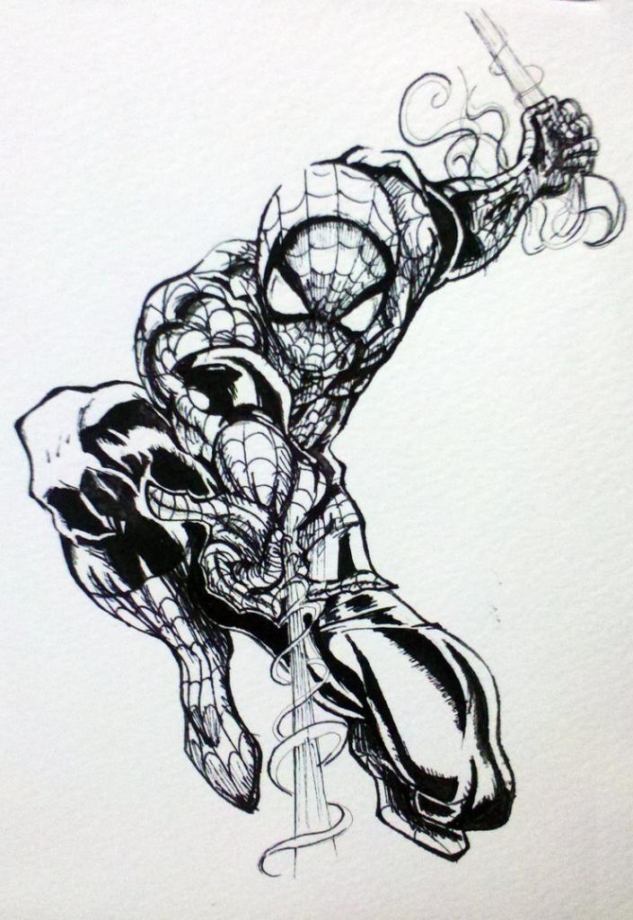 Trazos del demonio - Página 3 Spider