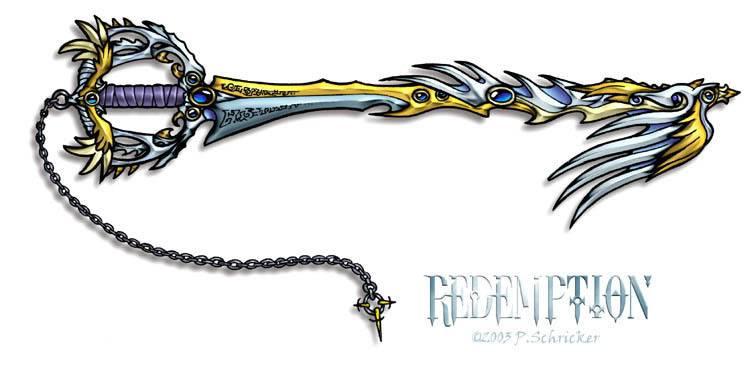 Beni's new Keyblade - Redemption Keyblade Redemption