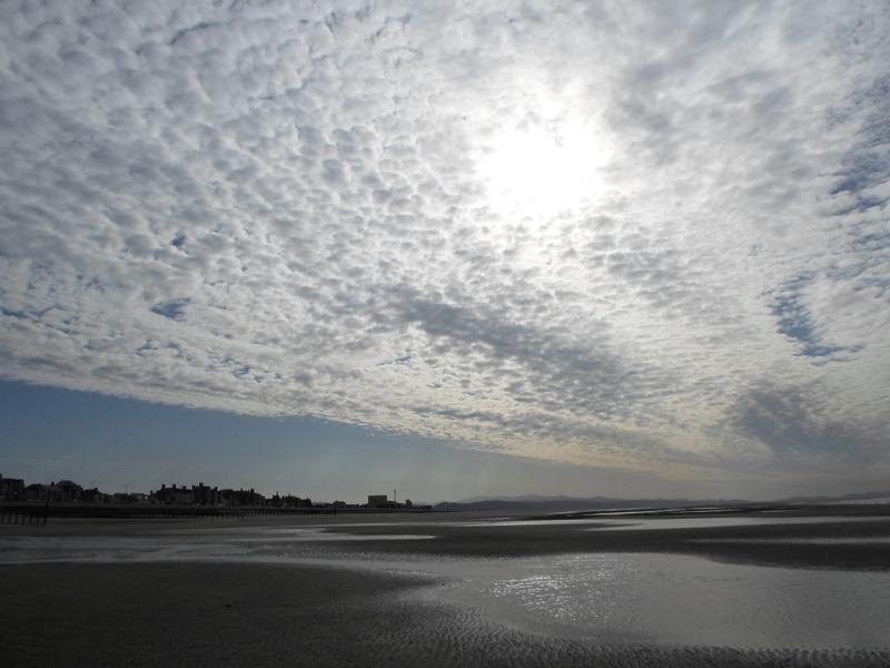 Weird sky over Rhyl today. SAM_0200
