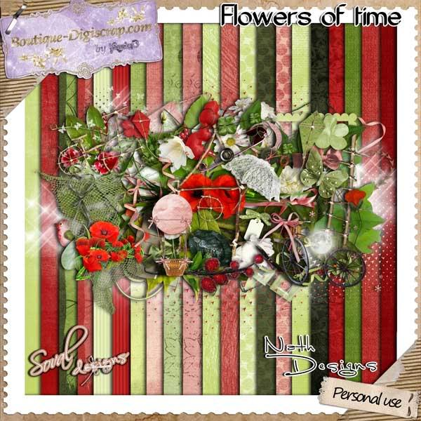 Flowers of time en boutique - on shop Soval__et_Nath_designs_flowers_o-2