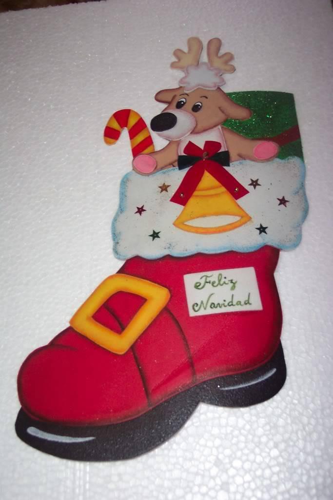 Bota navideña Bota