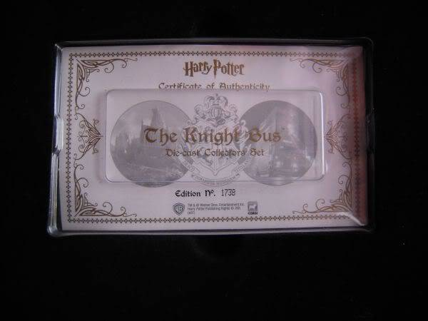 Harry Potter Die-cast Collectors Edition Set Hp025