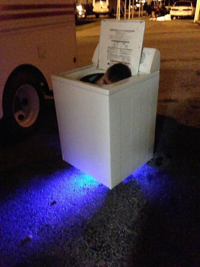 The washing machine go kart. Things are not always what they seem.  A6435340-D86A-474D-B76E-5560CFA2A163-6036-000003ECBFD4581B
