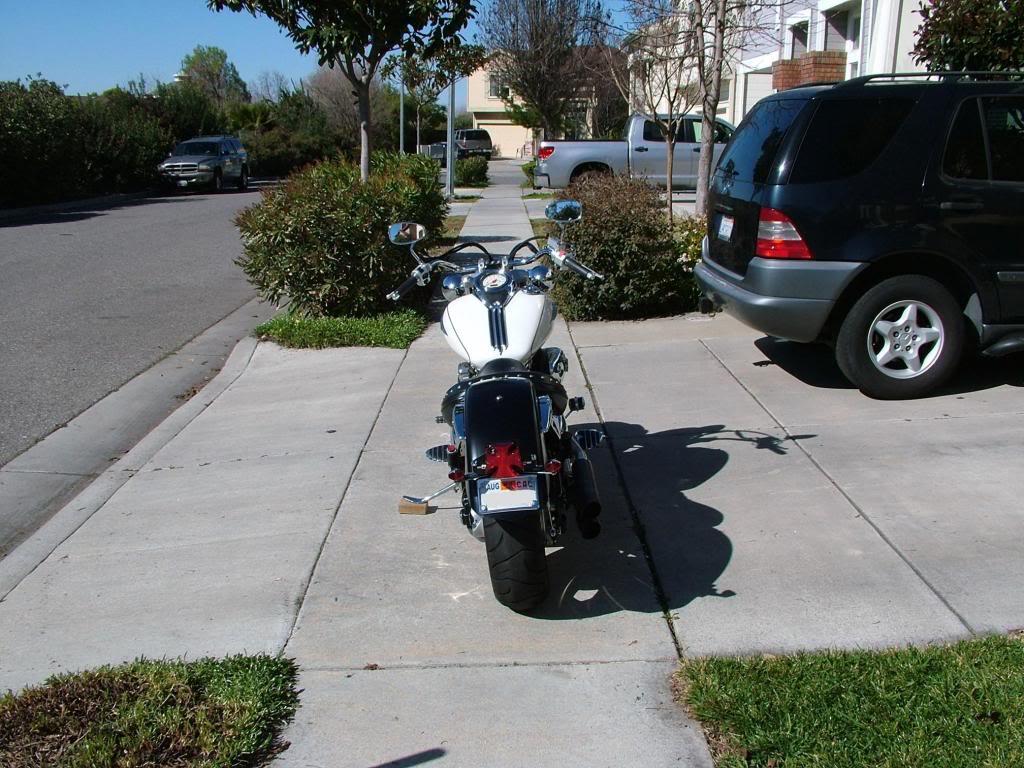 Modified rear fender ...... 2003 Suzuki Volusia DSCF7239