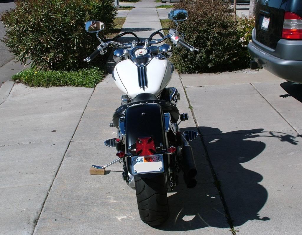 Modified rear fender ...... 2003 Suzuki Volusia DSCF7240