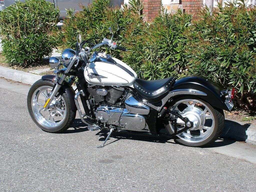 Modified rear fender ...... 2003 Suzuki Volusia DSCF7249