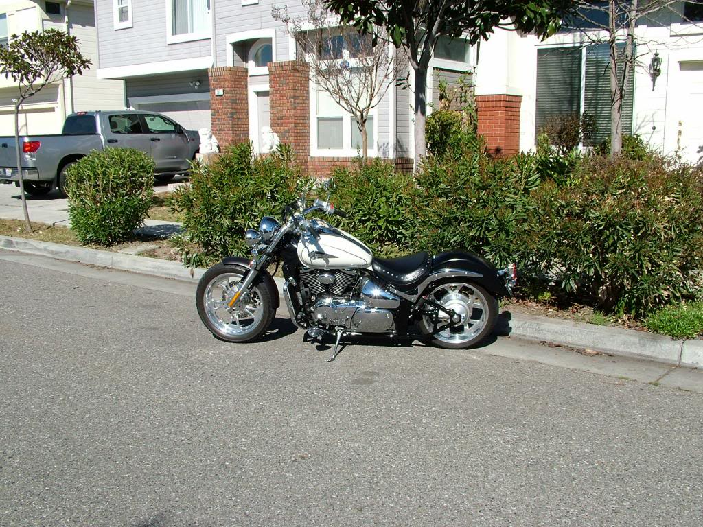 Modified rear fender ...... 2003 Suzuki Volusia DSCF7252