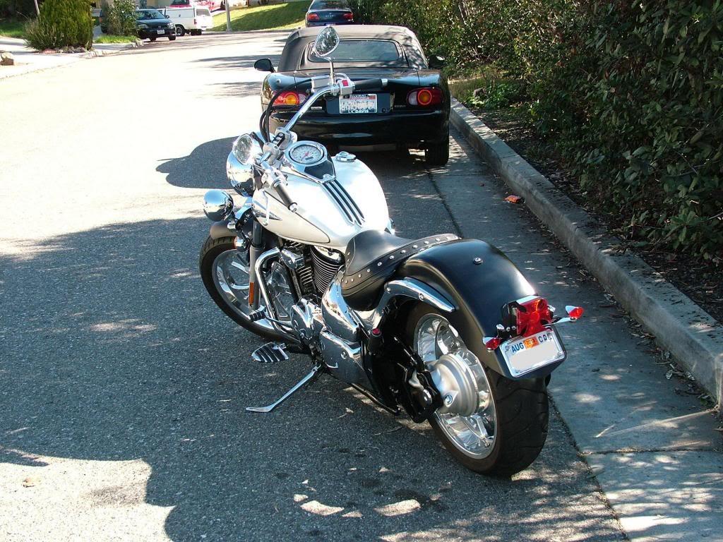 Modified rear fender ...... 2003 Suzuki Volusia DSCF7261