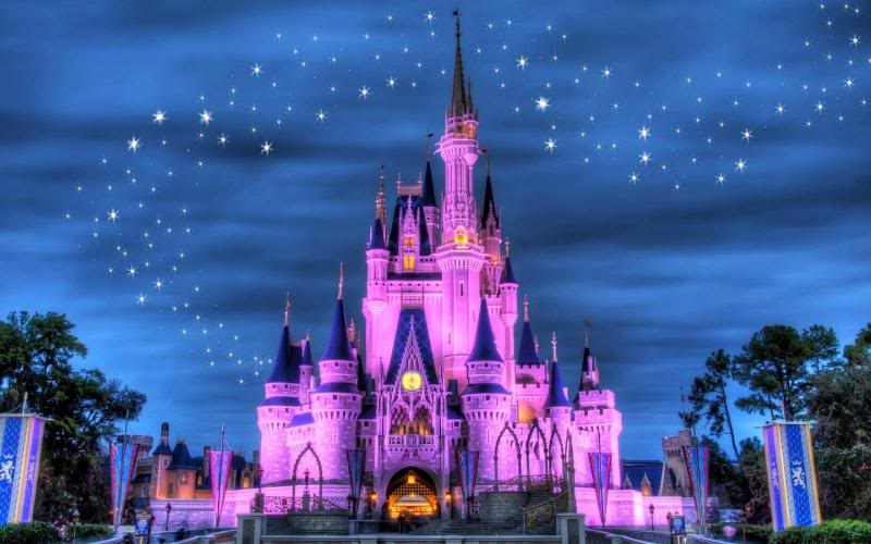 What (background) is on your desktop? - Page 7 Cinderellascastle5