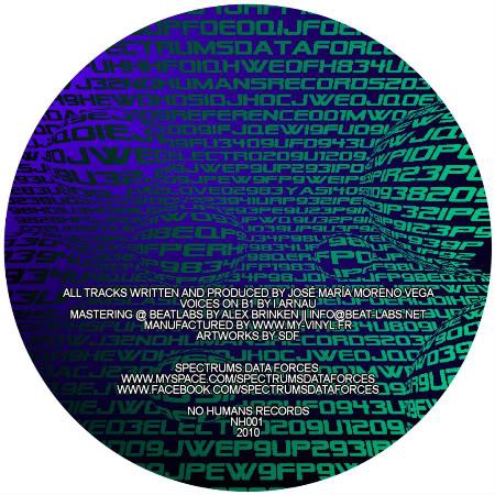 NO HUMANS RECORDS 001BACK