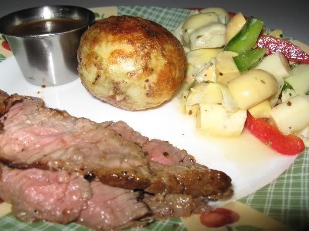 Pommes de terre au four Boeufantipasto