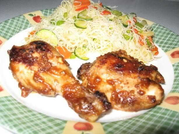 Cuisses de poulet d'inspiration Thaï Cuissesthai