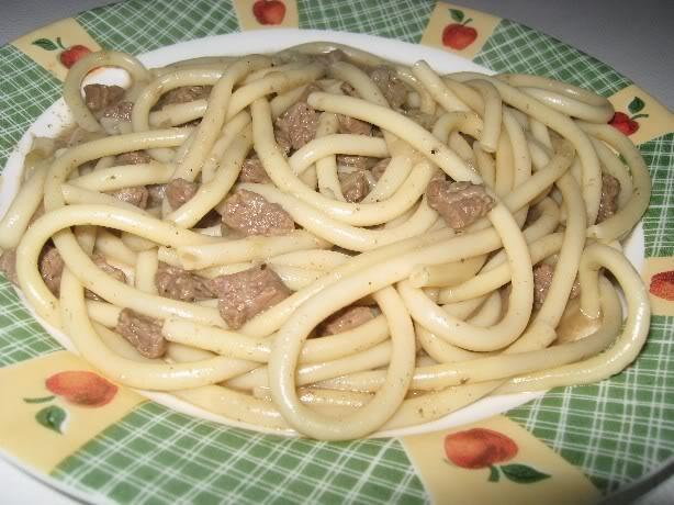 Macaroni long au bœuf – Macaroni Séraphin Macaroniseraphin