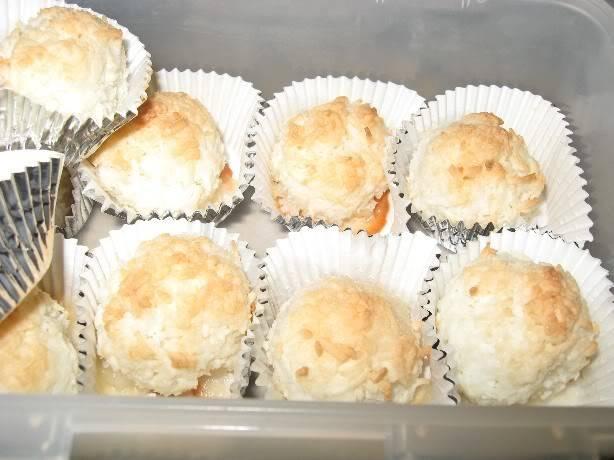 Macarons à la noix de coco Macaronscuits