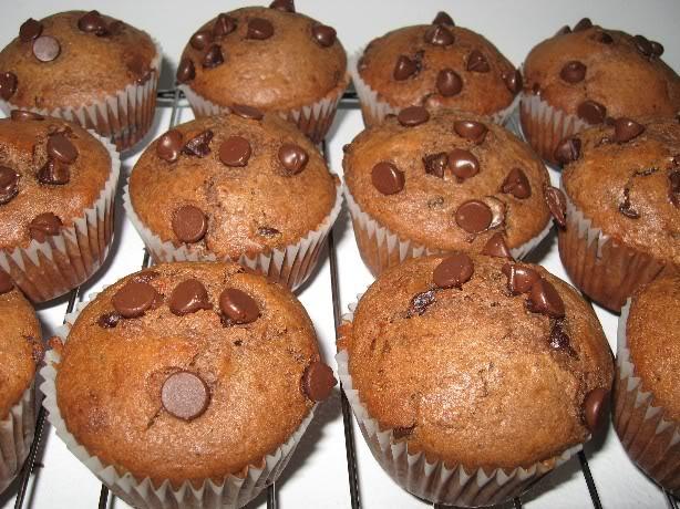 Muffins aux pépites de chocolat Nigella Lawson Muffinschocolat